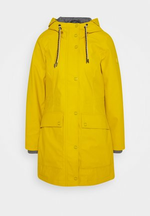 PADDED RAINCOAT - Parkaer - california sand yellow