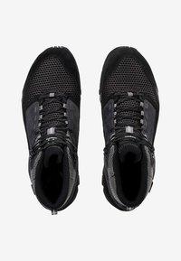 Haglöfs - SKUTA MID PROOF ECO - Hiking shoes - black/grey - 1