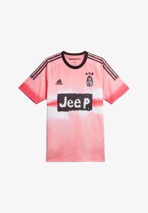 JUVENTUS T - Sports shirt - pinkschwarz