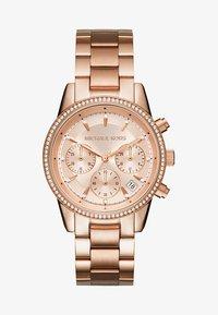 Michael Kors - RITZ - Chronograph watch - rose gold-coloured - 1