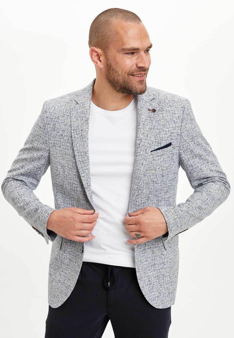 DeFacto - Blazer jacket - blue