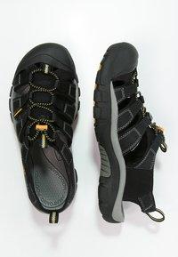 Keen - NEWPORT H2 - Sandały trekkingowe - black - 1
