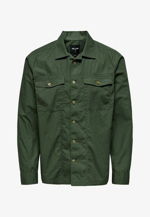 ONLY & SONS HEMD LEICHTES OVER - Summer jacket - olive night
