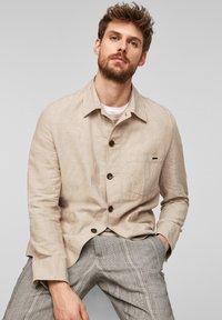 s.Oliver BLACK LABEL - Light jacket - beige melange - 6