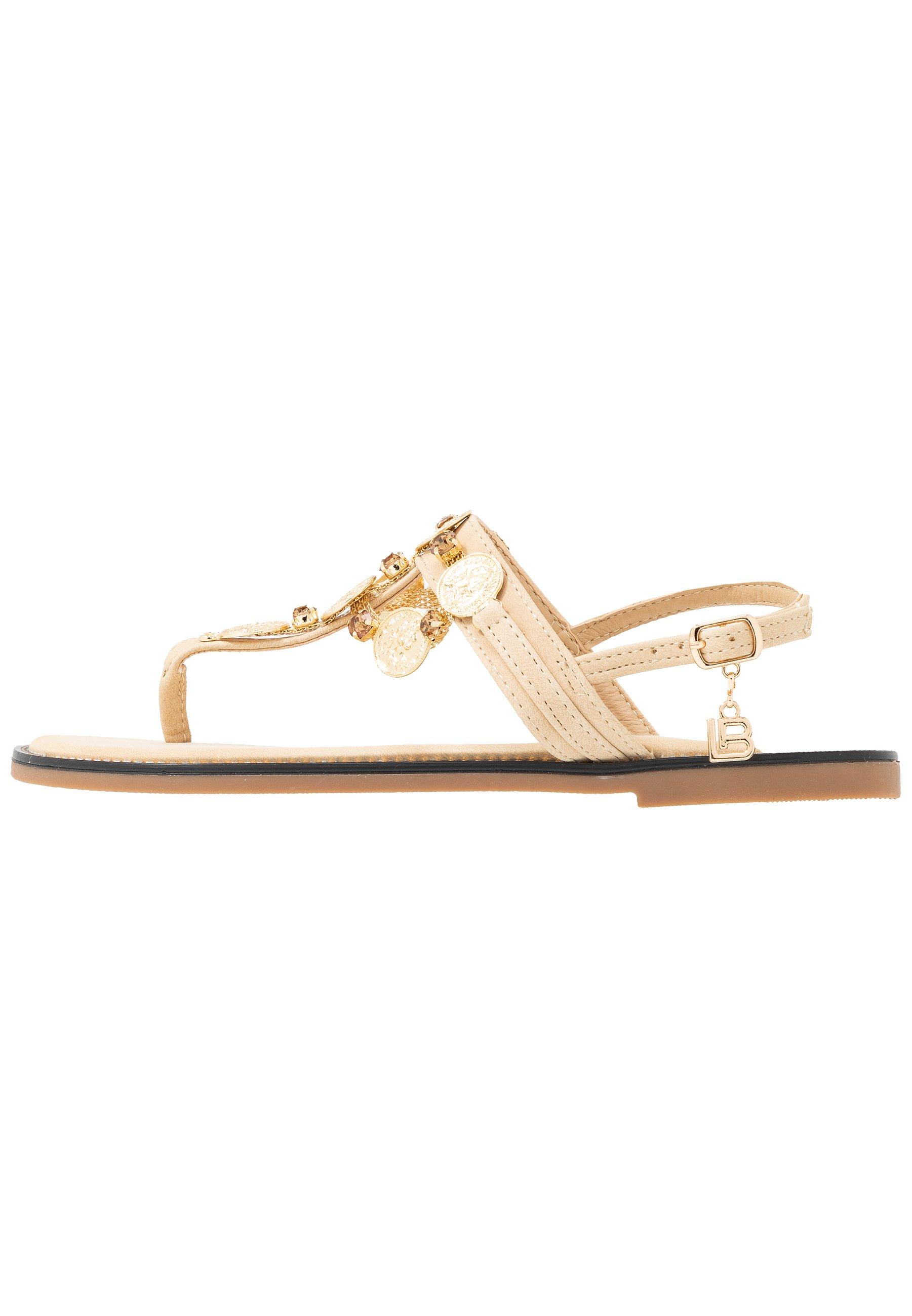 Laura Biagiotti Flip Flops - Beige/beige