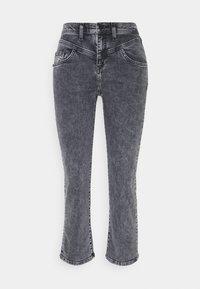 Rich & Royal - Straight leg jeans - denim black - 0