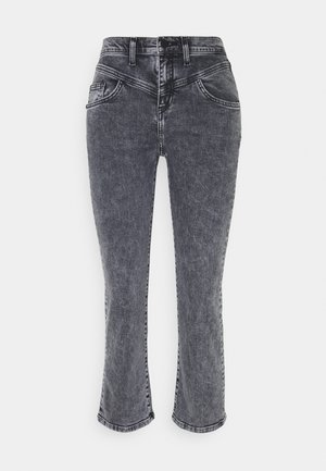 Straight leg jeans - denim black
