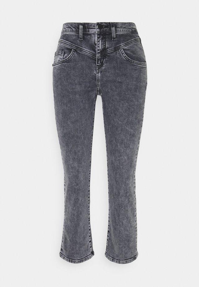 Jeans a sigaretta - denim black
