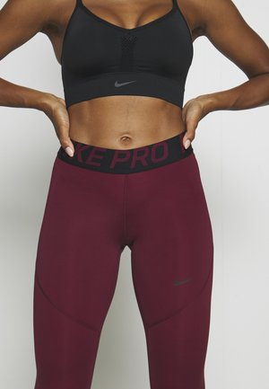 Leggings - dark beetroot/desert berry
