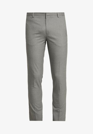 ESSENTIAL - Suit trousers - grey