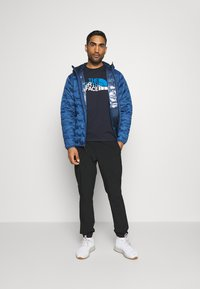 The North Face - MOUNTAIN LINE TEE - T-shirt con stampa - aviator navy - 1