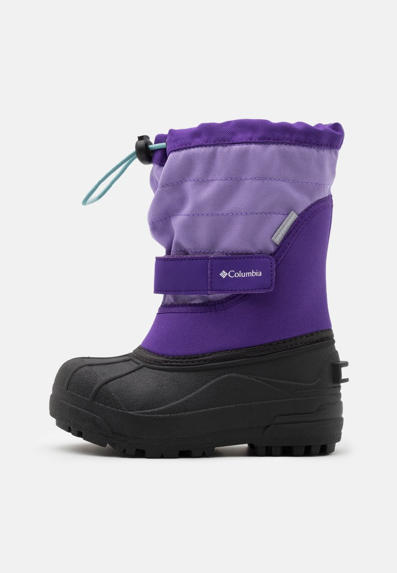 Columbia - CHILDRENS POWDERBUGPLUS II UNISEX - Winter boots - emperor/paisley purple