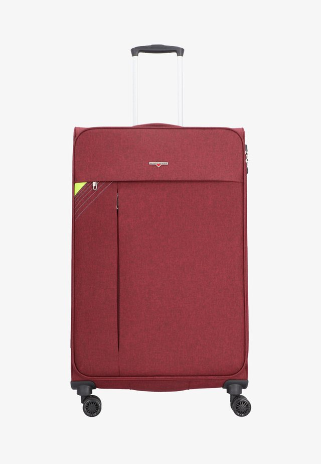 Revolution - Wheeled suitcase - red