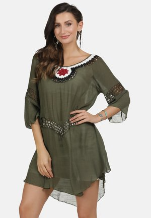 TUNIKAKLEID - Day dress - oliv