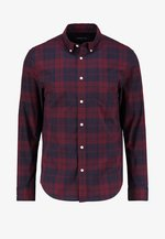 Skjorta - dark blue/bordeaux