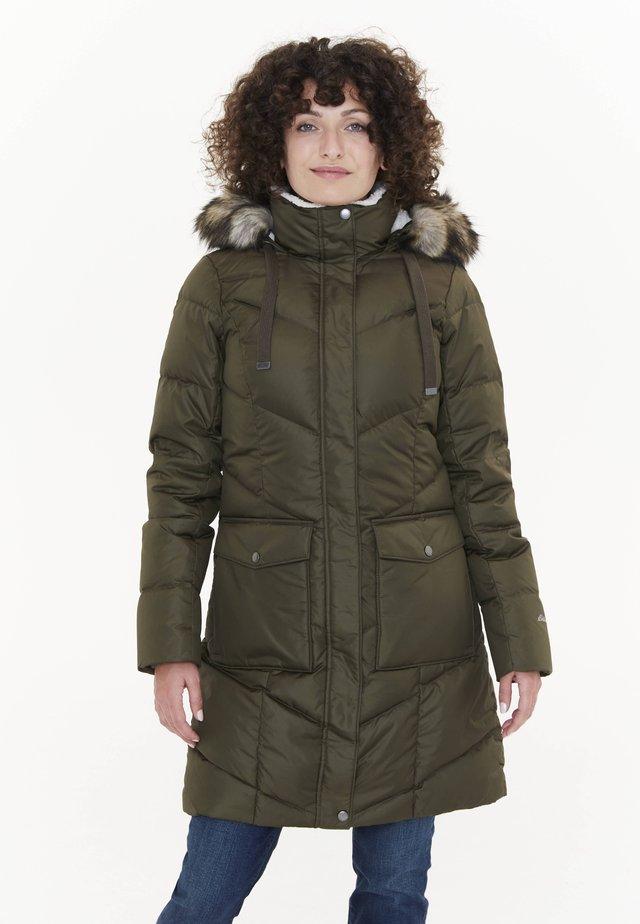 LODGE CASCADIAN  - Down coat - oliv