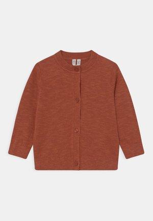 UNISEX - Cardigan - rust