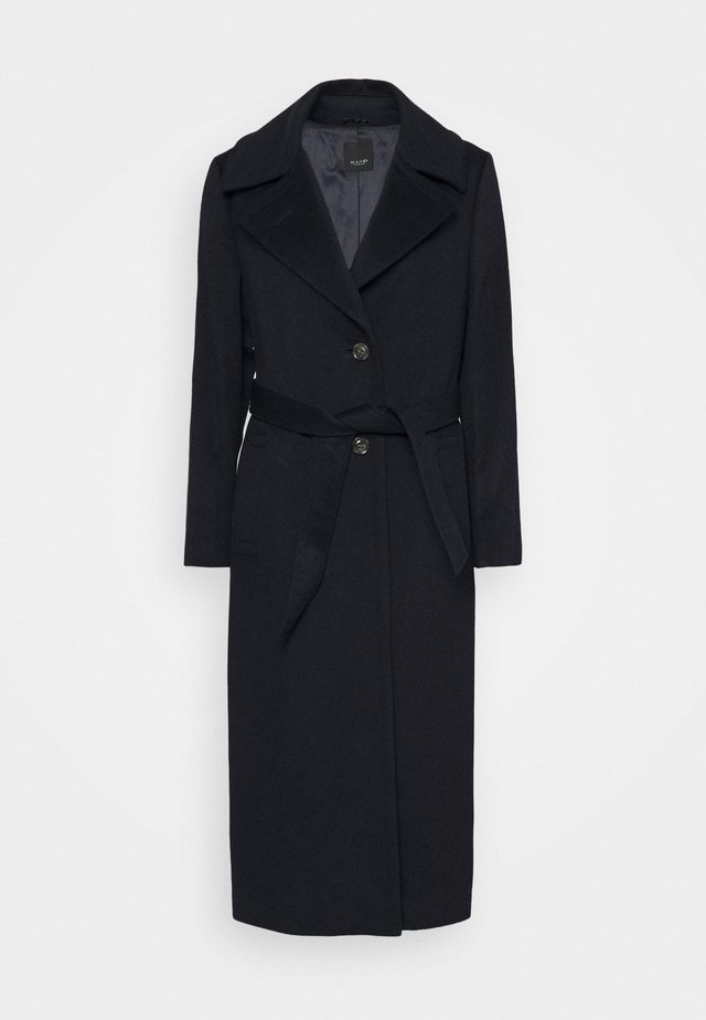 COAT CLARETA BELT - Classic coat - navy