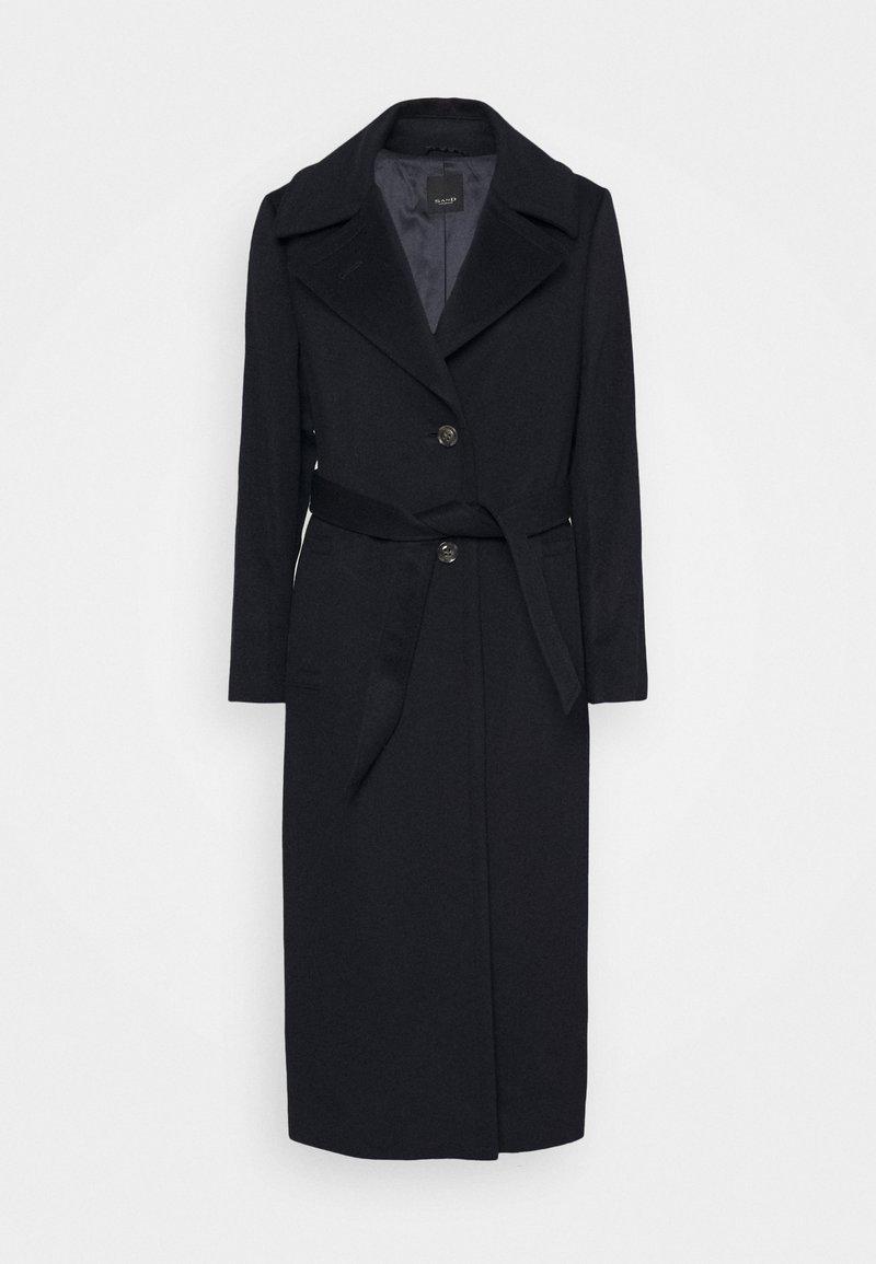 Sand Copenhagen - COAT CLARETA BELT - Classic coat - navy