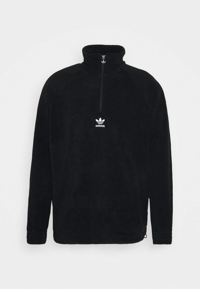adidas Originals - TREFOIL - Fleece jumper - black