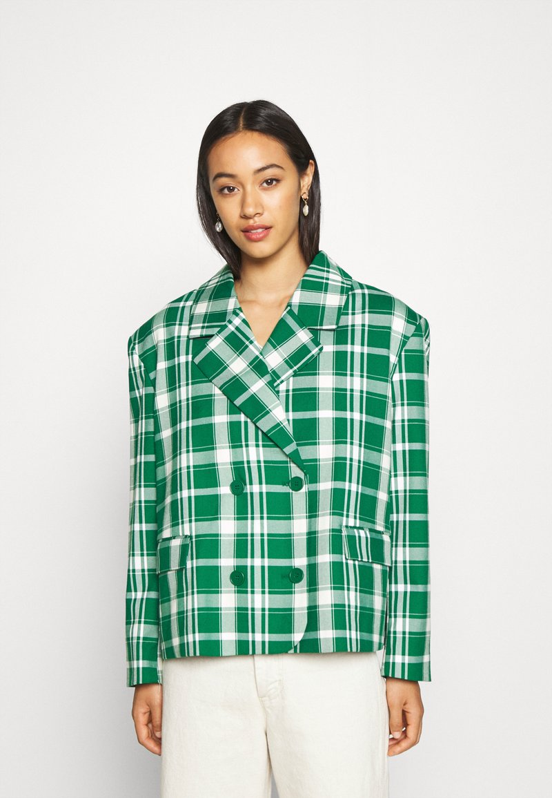 Monki - PENNY - Short coat - green