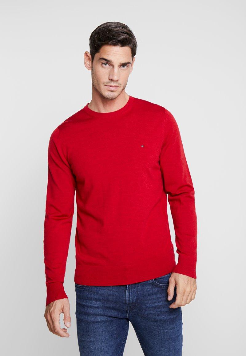 Tommy Hilfiger Tailored - FINE GAUGE LUXURY  - Jumper - red