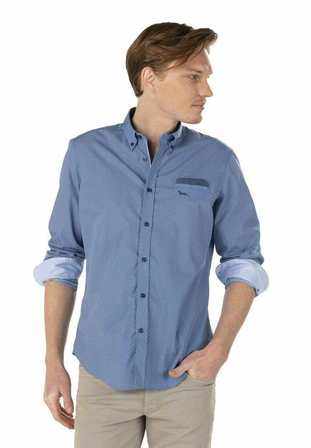 Overhemd - blu screziato