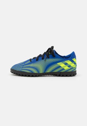 NEMEZIZ .4 TF UNISEX - Astro turf trainers - royal blue/solar yellow/core black