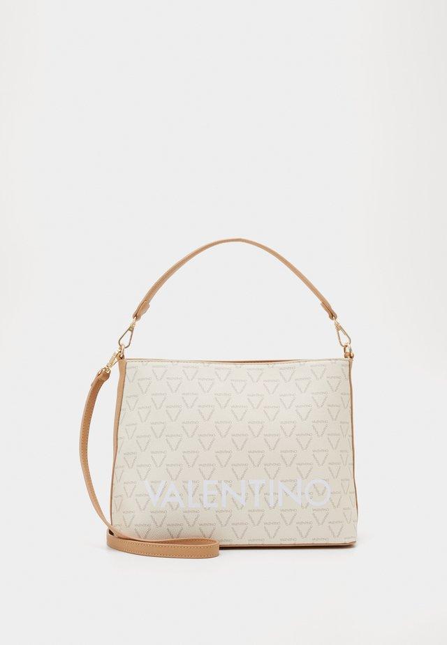 LIUTO - Handbag - ecru/multi