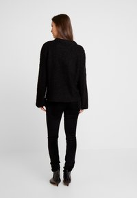 Vila - Strickpullover - black - 2