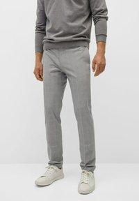 Mango - Chino kalhoty - mittelgrau - 0