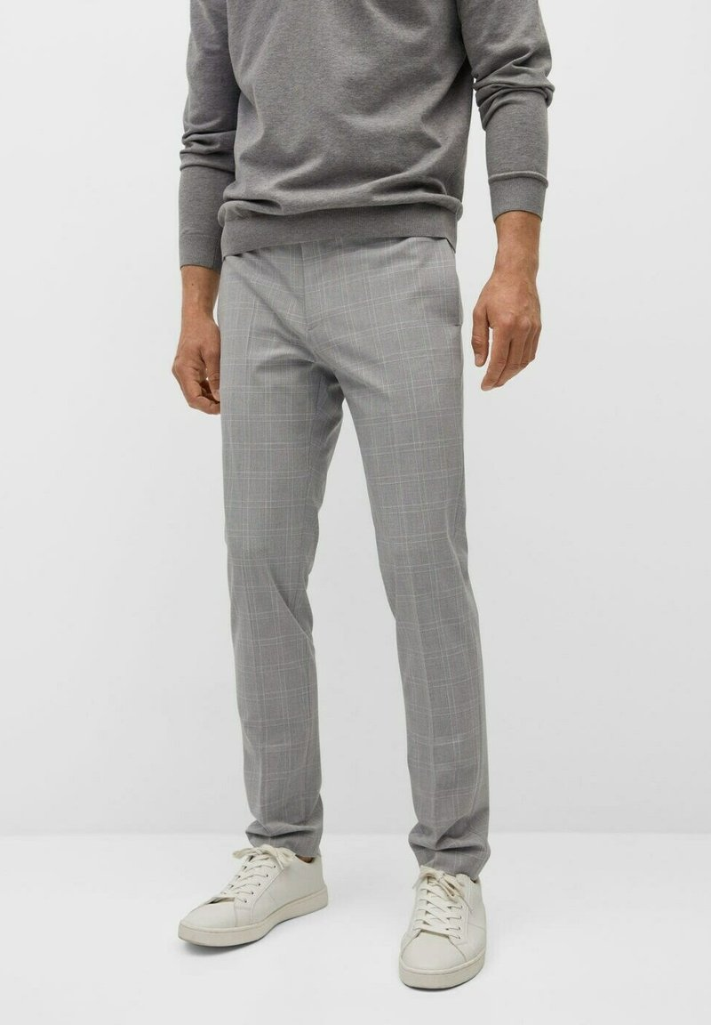 Mango - Chino kalhoty - mittelgrau