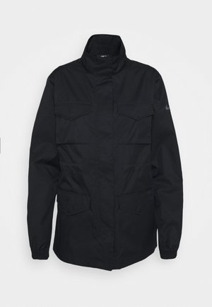 Summer jacket - black/iron grey
