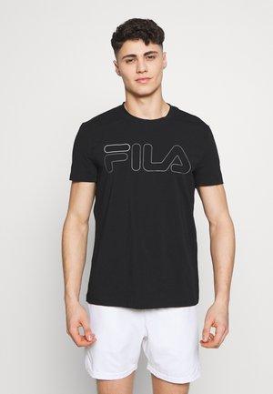 RICKI - Camiseta estampada - black