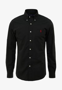 Polo Ralph Lauren - NATURAL SLIM FIT - Shirt - black - 3
