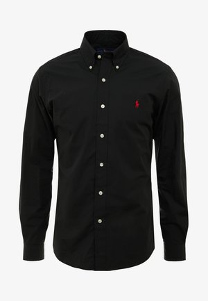 NATURAL SLIM FIT - Shirt - black