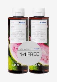Korres - GUAVA 1+1 SHOWER GEL SET - Bath and body set - - - 0