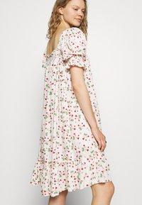 byTiMo - SMOCKING BABYDOLL DRESS - Day dress - strawberries - 3