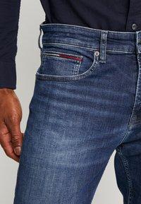 Tommy Jeans - STEVE SLIM TAPERED - Slim fit jeans - nassau dark blue - 3