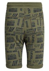 WE Fashion - Shorts - dark green - 4