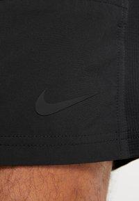 Nike Performance - SHORT YOGA - Sports shorts - black/iron grey - 5