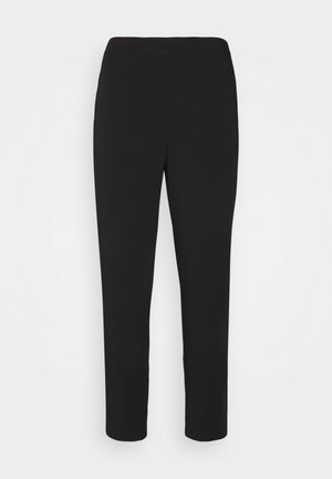 OBJCECILIE PANTS - Trousers - black