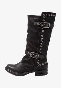 Coolway - GISELE - Kowbojki i obuwie motocyklowe - black - 1