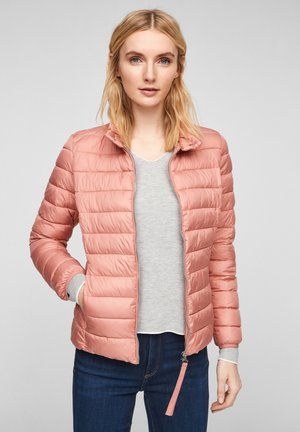 Winter jacket - light coral
