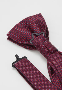 Tommy Hilfiger - MICRO DESIGN BOWTIE - Bow tie - red