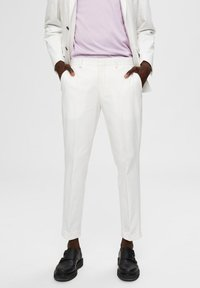 Selected Homme - Trousers - egret - 0