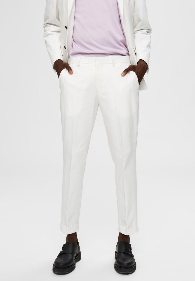 Pantalon classique - egret