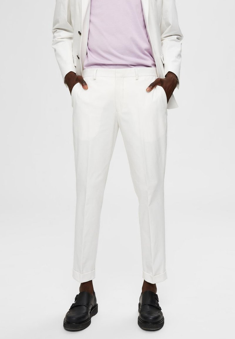 Selected Homme - Trousers - egret