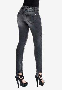 Cipo & Baxx - Slim fit jeans - black - 3