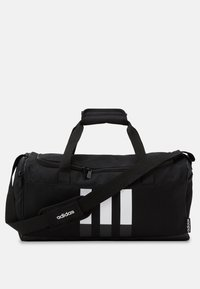 adidas Performance - ESSENTIALS 3 STRIPES SPORTS DUFFEL BAG UNISEX - Sports bag - black/black/white - 1
